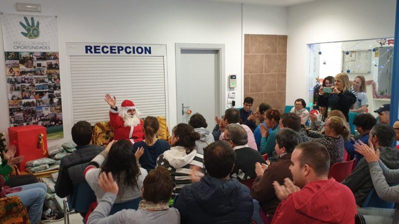 Visita Papá Noel y Almuerzo Navideño